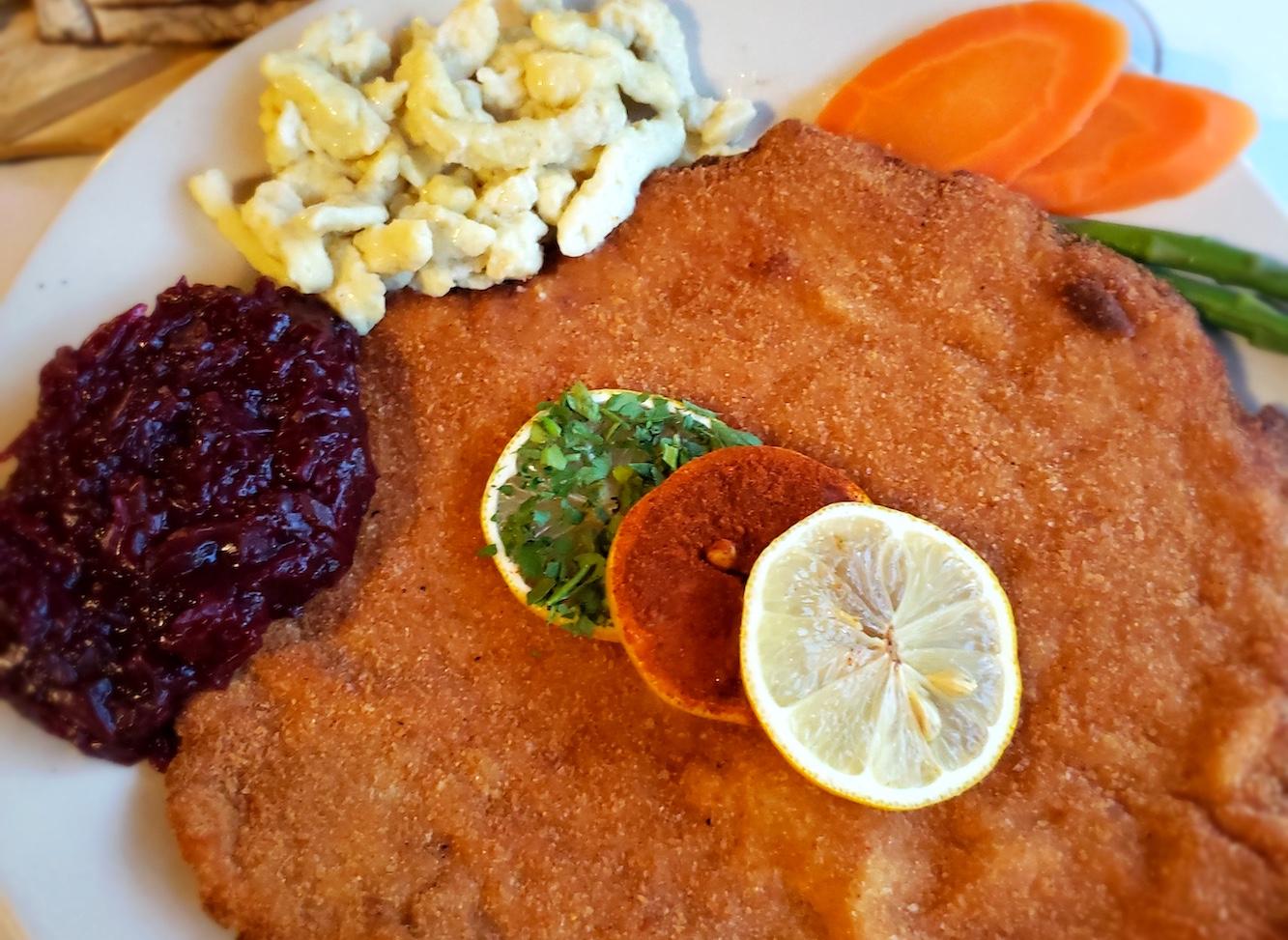 Al's Cafe Schnitzel VS. Elgin Public House Pork Belly Nachos